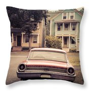 Hometown Usa Throw Pillow