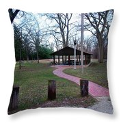 Homewood Izzak Walton Pavilion - Fall Throw Pillow