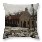Homewood Station Throw Pillow