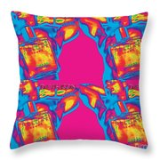 Homme Pop Four Throw Pillow