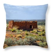 Homolovi Ruins State Park Az Throw Pillow by Christine Till