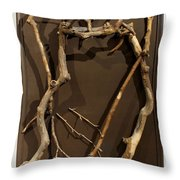 Homosycamorous Or We Evolved From Trees Throw Pillow