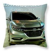 Honda Urban Suv Concept  2 Throw Pillow