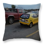 Honda Z600 Throw Pillow
