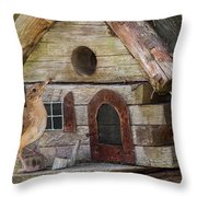 Honey I'm Home Throw Pillow