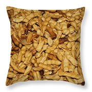 Honey Mosquite Beans For Coffee Additive Throw Pillow