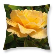 Honey Perfume Throw Pillow