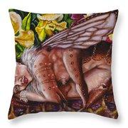 Honeymoon - Bhramari Devi Throw Pillow