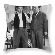 Honeymooners Throw Pillow