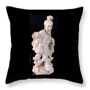 Hong Kong  Man Throw Pillow