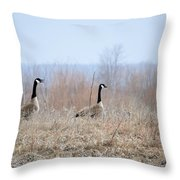Honkers Throw Pillow