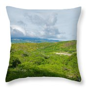 Honolulu Hi 13 Throw Pillow