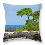 Honolulu Hi 8 Throw Pillow