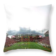 Honor At Death Valley Throw Pillow