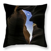 Honor The Sky Throw Pillow