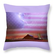 Honor To The Soldier And Sailor Everywhere Throw Pillow