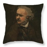 Honore Daumier Throw Pillow