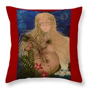 Honoring Throw Pillow by Judy M Watts-Rohanna