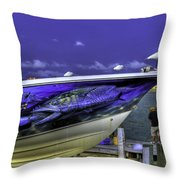 Hood Ornaments Throw Pillow