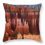 Hoodoo Sunrise Bryce Canyon Throw Pillow