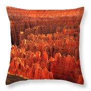 Hoodoos Basin Throw Pillow