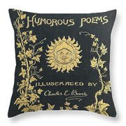Hoods Humorous Poems Throw Pillow