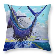 Hooked Up Off004 Throw Pillow