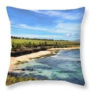 Ho'okipa Beach Park - Maui Throw Pillow