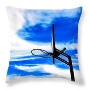 Hoop Dreamz Throw Pillow