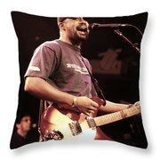 Hootie And The Blowfish Throw Pillow