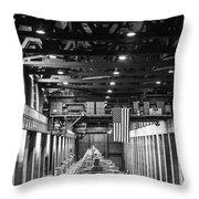 Hoover Dam Generators Throw Pillow