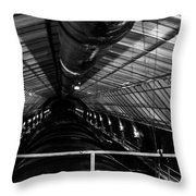 Hoover Dam Intake Pipe Throw Pillow