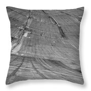 Hoover Dam Looking Down Throw Pillow