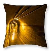 Hoover Dam Tunnel 2 Throw Pillow