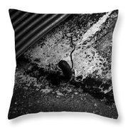 Hoover Dam Tunnel Throw Pillow