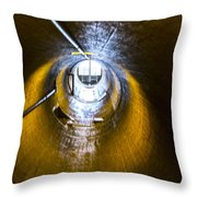 Hoover Dam Ventilation Tunnel Throw Pillow