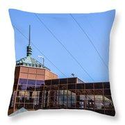 Hoover Dam Visitor Center Throw Pillow