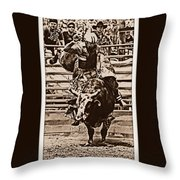 Hooves In The Air Throw Pillow