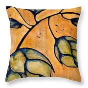 Hop Extract Throw Pillow