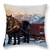 Hop On   We Are Ready Throw Pillow