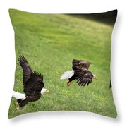 Hop Skip And Jump Throw Pillow