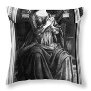 Hope, 15th Century Throw Pillow