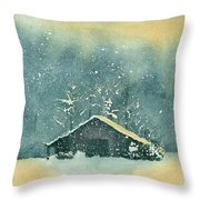Hope Amidst The Storm Throw Pillow
