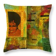 Hope And Belief Love And Laugther Throw Pillow