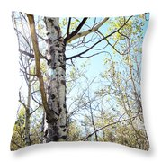 Hope And Growth Throw Pillow