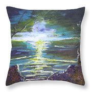 Hope In The Gloom Throw Pillow