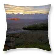 Hope Valley Sunset Throw Pillow