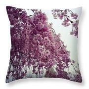 Hopeful Spring Throw Pillow