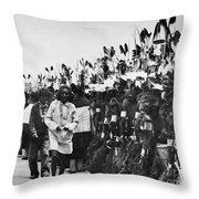 Hopi Dancers Throw Pillow