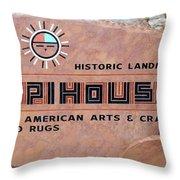 Hopihouse Sign Throw Pillow